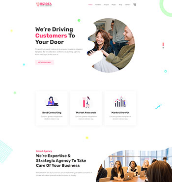 Bizidea - Business HTML5 Template 1.jpg