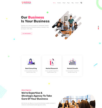 Bizidea - Business HTML5 Template 2.jpg