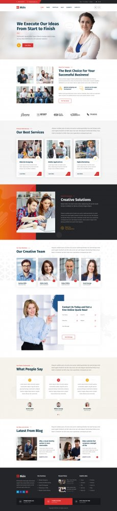 Bizix - Corporate and Business WordPress Theme.jpg
