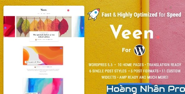 Veen - Minimal & Lightweight Blog for WordPress.jpg
