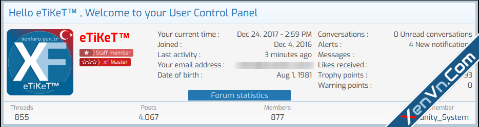 [XenGenTr] Welcome Panel - Xenforo 2.png